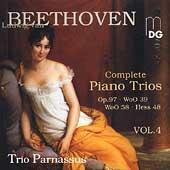 Beethoven: Complete Piano Trios Vol 4 / Trio Parnassus