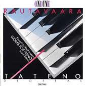 Rautavaara: Works for Piano / Izumi Tateno