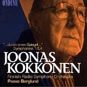 """Kokkonen: """"durch einen Spiegel"""", Symphonies 1 & 4 / Berglund"""