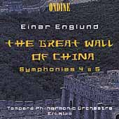 Englund: The Great Wall of China, Symphonies no 4 & 5 / Klas
