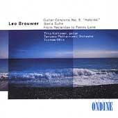 Brouwer: Guitar Concerto, etc;  Albeniz / Korhonen, Ollila