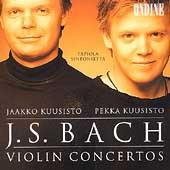 Bach: Violin Concertos / Jaakko Kuusisto, Pekka Kuusisto