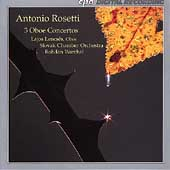 Rosetti: Oboe Concertos / Lencses, Warchal, Slovak CO