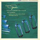 Spohr: Violin Concertos 7, 9 & 10 / Ulf Hoelscher(vn), Christian Frohlich(cond), Berlin Radio Symphony Orchestra