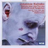 Kalitzke: Bericht ueber den Tod des Musikers Jack Tiergarten