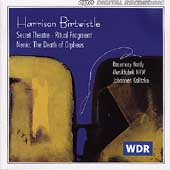 Birtwistle: Secret Theatre, Ritual Fragment, etc / Hardy