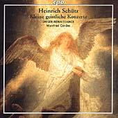 ブレーメン・ヴェゼル=ルネサンス/Heinrich Schuetz: Kleine geistliche Konzerte / Manfred Cordes [CD999675]