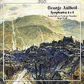 Antheil: Symphonies nos 4 & 5 etc / Hugh Wolff, Frankfurt RSO