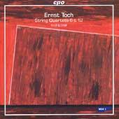 Toch: String Quartets 6 & 12 / Verdi Quartet