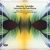 Martinu, Schnittke: Concertos for 2 Pianos/ Genova, Dimitrov