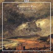 Ries: Symphonies no 4 & 6 / Griffiths, Zuercher CO