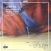 Tal: Symphonies no 1-3 / Yinon, NDR Radiophilharmonie