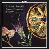 Rosetti: Bassoon Concertos / Eckart Huebner, et al