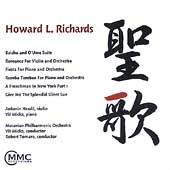 Howard L. Richards: Baishu and O'Ume Suite, etc