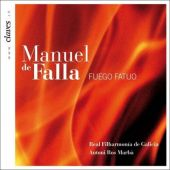 Falla: El sombrero de tres picos -Suites No.1, No.2, Fuego Fatuo (9/15-18/2007) / Antoni Ros Marba(cond), Real Filharmonia de Galicia, Marisa Martins(Ms)