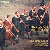 Simpson: Taffel Consort / Novus Brass Quartet