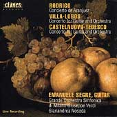 Rodrigo, Villa-Lobos, Castelnuovo-Tedesco / Emanuele Segre