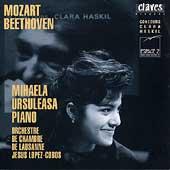 Beethoven, Mozart: Piano Concertos / Ursuleasa, Lopez-Cobos