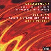 Stravinsky: Agon, Piano Concerto, etc / Engel, Venzago