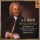 Bach: Die Kunst der Fuge / Savall, Hesperion XX