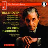 The Barbirolli Society - Beethoven: Symphonies no 5, 8, etc