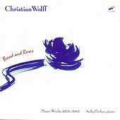 Wolff: Bread and Roses, etc - Piano Works 1976-83 / Pinkas