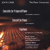 Cage: Concerto for Prepared Piano, etc / Tudor, Peltz, et al