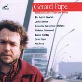 Pape: Electroacoustic Chamber Works / Arditti Quartet, et al