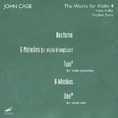 John Cage Edition - Works for Violin 4 / Arditti, Drury