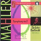 The Barbirolli Society - Mahler: Symphony no 1 / Halle