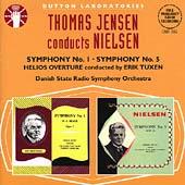 Nielsen: Symphonies 1 & 5, Helios / Jensen, Tuxen