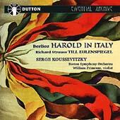 Berlioz: Harold in Italy; R. Strauss / Koussevitsky