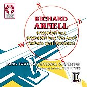 "R.Arnell : Symphonies No.1 Op.31, No.6 ""The Anvil"" Op.171, etc / Martin Yates(cond), Royal Scottish National Orchestra"