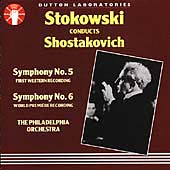 Stokowski Conducts Shostakovich - Symphonies no 5 & 6