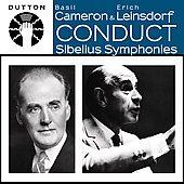 Basil Cameron & Erich Leinsdorf Conduct Sibelius Symphonies -No.2 Op.43 (12/30/1947), No.5 Op.82, Karelia Suite Op.11 (7/10/1946) / LPO