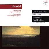 Handel: Complete Organ Concertos Vol 1 / Genevieve Soly
