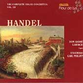 Handel: Complete Organ Concertos Vol 3 / Genevieve Soly
