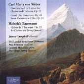 Weber: Clarinet Concerto, etc / Campbell, Hokanson, et al
