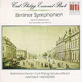 C.P.E. Bach: Berliner Symphonien / Hartmut Haenchen, et al