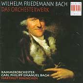 W.F. Bach: Das Orchesterwerk / Hartmut Haenchen