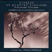 Vivaldi: The Four Seasons, etc / Zehetmair, Camerata Bern
