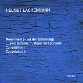 Lachenmann: Mouvement, Consolation I, etc
