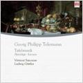 ルードヴィヒ・ギュトラー/Telemann: Tafelmusik / Ludwig Guttler(cond), Virtuosi Saxoniae [0013982BC]