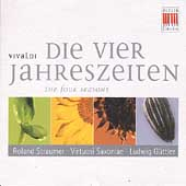 Vivaldi: Die vier Jahreszeiten / Roland Straumer, Ludwig Guttler, Virtuosi Saxoniae