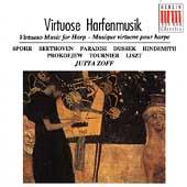 Virtuose Harfenmusik - Spohr, Beethoven, et al / Jutta Zoff