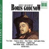 Mussorgsky: Boris Godunow / Kegel, Adam, et al