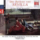 Rossini: Barber of Seville / Otmar Suitner, Ruth Putz, Peter Schreier, Hermann Prey