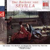 Rossini: Barber of Seville / Otmar Suitner, Ruth Putz, Peter Schreier, Hermann Prey