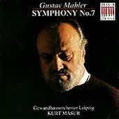 Mahler: Symphony no 7 / Kurt Masur, Gewandhaus Orchestra
