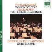 Eterna - Tschaikowsky: Symphony No 2, etc / Masur, Dresden